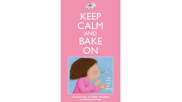 'Keep Calm and Bake On' T-Towel